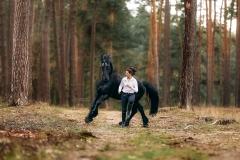 Alex & Macho im Kiefernwald